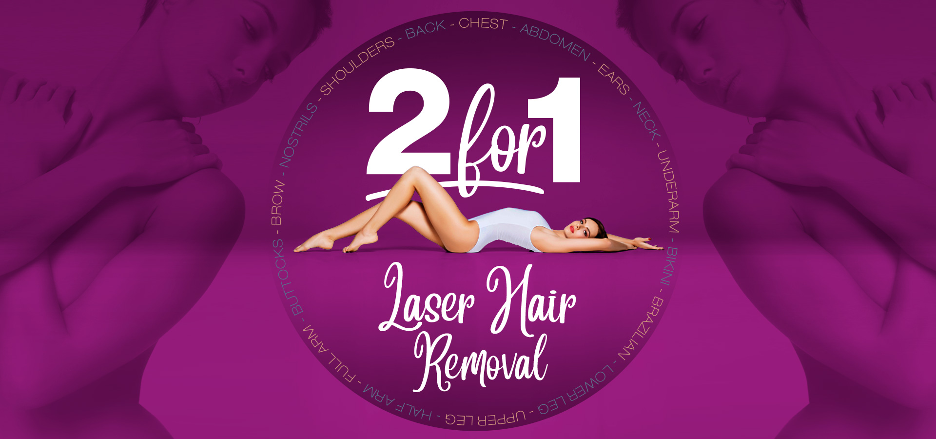 Laser leg hair removal discount deal